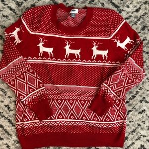 Old Navy Christmas Fair Isle Sweater XXL